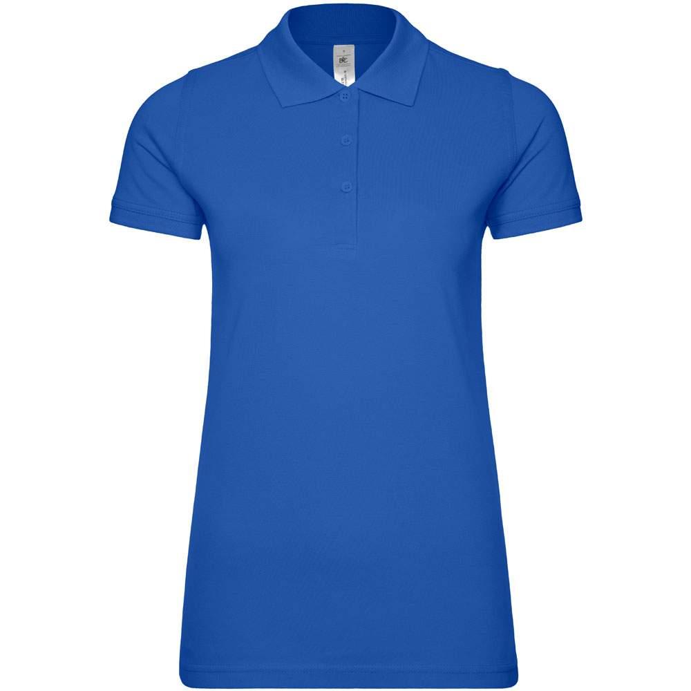 Safran Frauen Poloshirt bedrucken