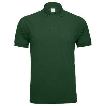 Männer Safran Poloshirt