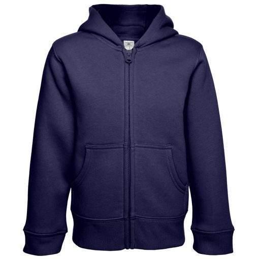 Kinder Zip Pullover bedrucken