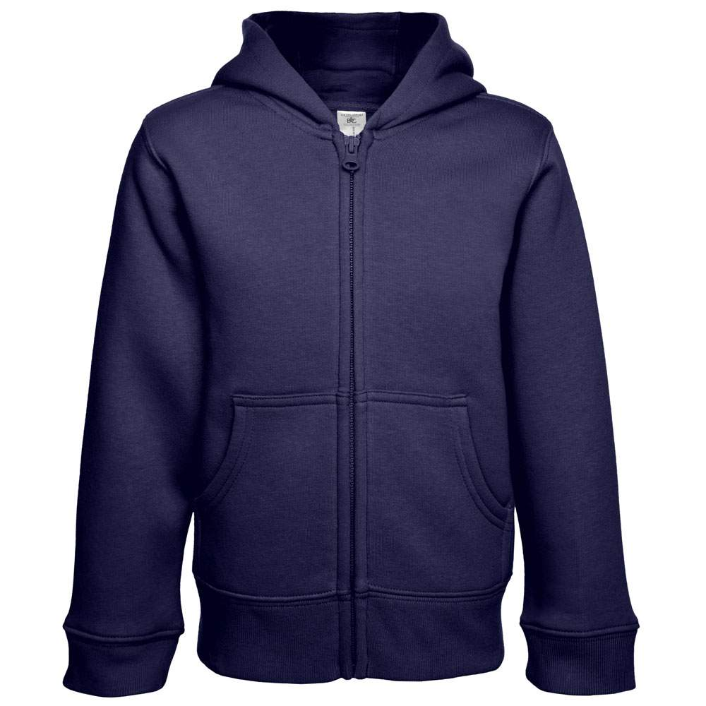 Kinder Zip Pullover bedrucken