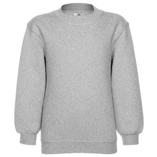 Klassisches Kinder Set-In Sweatshirt bedrucken