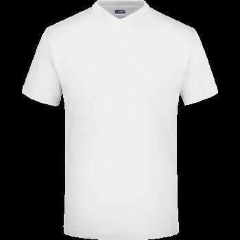 Männer Basic V-Ausschnitt T-Shirt