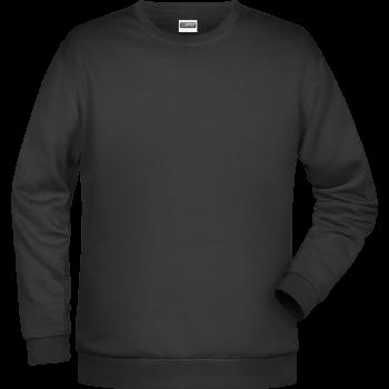 Männer Klassisches Set-In Sweatshirt
