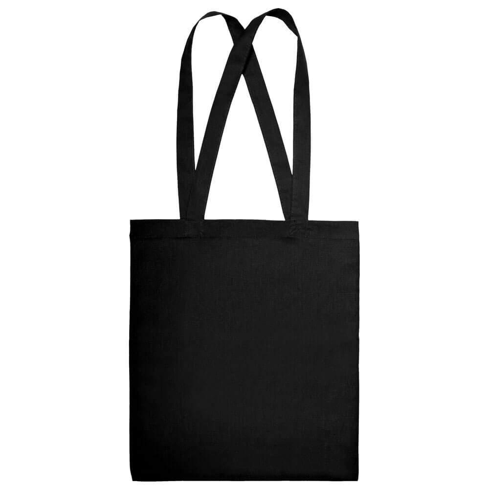 Baumwoll-Tasche mit langen Henkeln