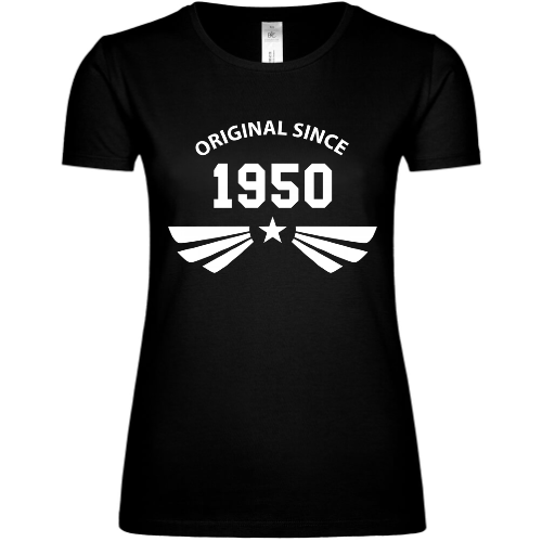 Original since 1950 Frauen T-Shirt