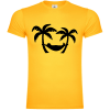 Holiday Palms Hanging Lie T-Shirt