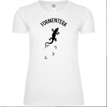 Formentera Lizard Frauen T-Shirt