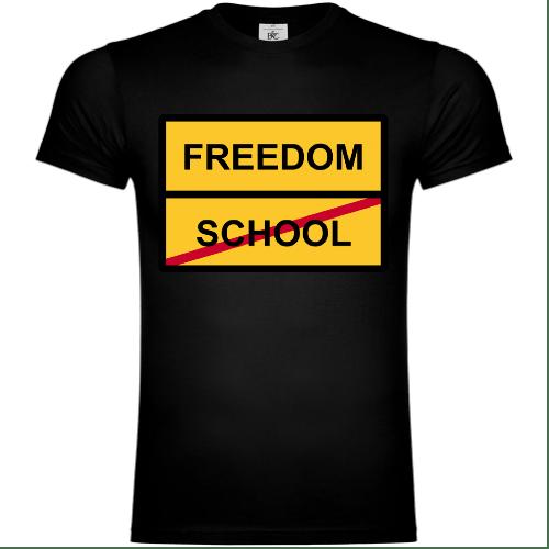 Freedom vs SchoolT-Shirt