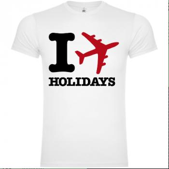 I Love Holidays T-Shirt