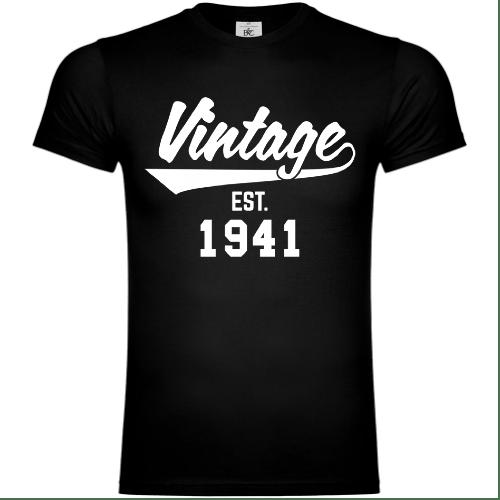 Vintage Established 1941 T-Shirt