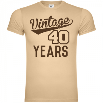 Vintage 40 Years T-Shirt