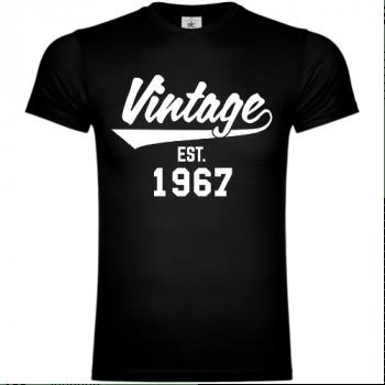 Vintage Established 1967 T-Shirt