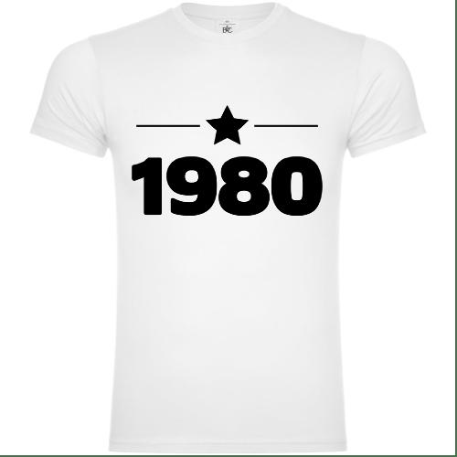 1980 Year of Birth T-Shirt