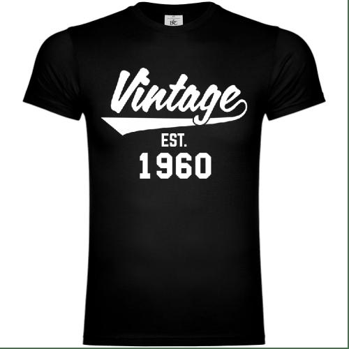 Vintage Established 1960 T-Shirt