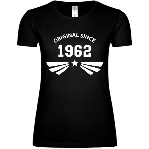 Original since 1962 Frauen T-Shirt
