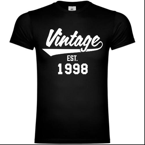 Vintage Established 1998 T-Shirt
