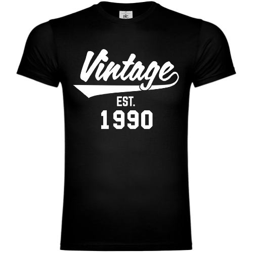 Vintage Established 1990 T-Shirt