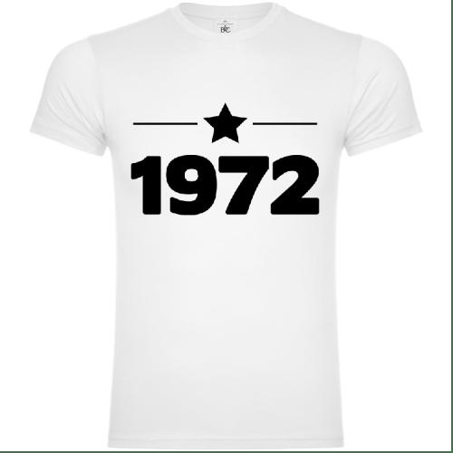 1972 Year Of Birth T-Shirt