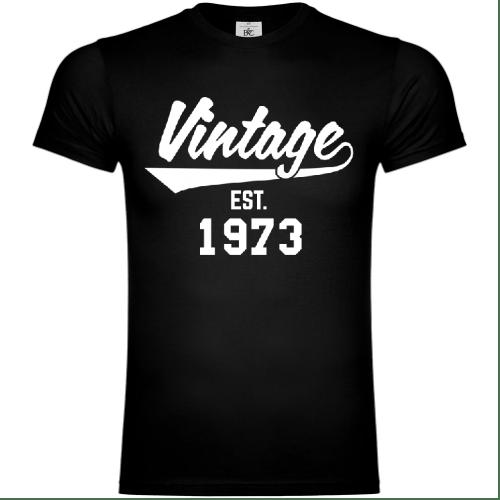 Vintage Established 1973 T-Shirt
