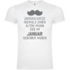 Unterschätze niemals einen alten Mann - Januar T-Shirt
