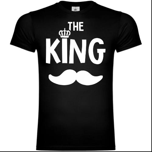 The King Mustache T-Shirt