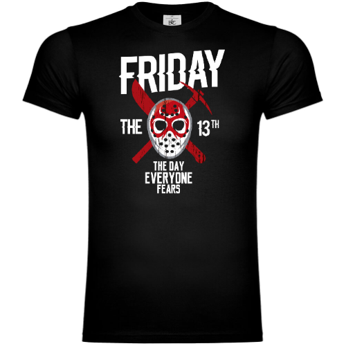 Friday The 13th The Day Everyone Fears T-Shirt