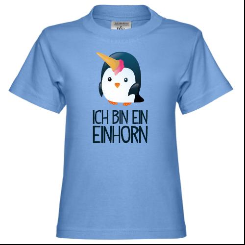 Ich bin ein Einhorn Kinder T-Shirt