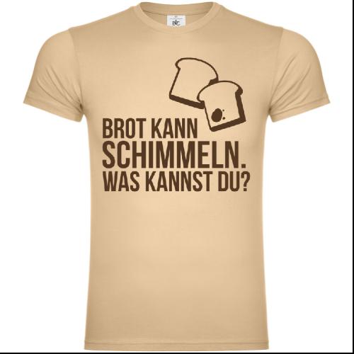 Brot kann schimmeln was kannst du T-Shirt