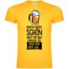 Saufen macht schön T-Shirt