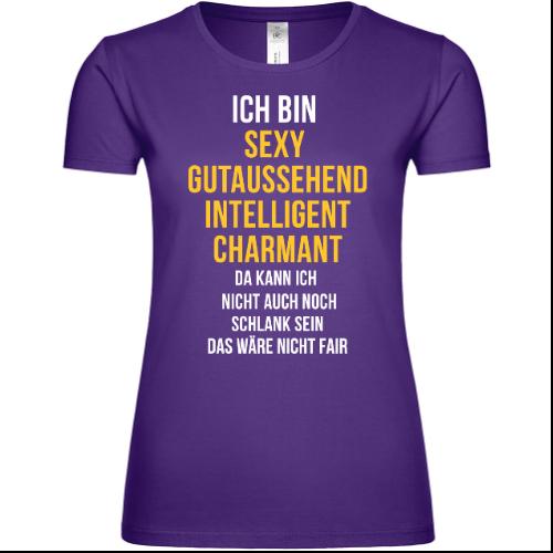 Gutaussehend intelligent charmant Frauen T-Shirt