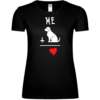 Me And Dog Is Love Frauen T-Shirt