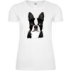 Boston Terrier Kopf Frauen T-Shirt