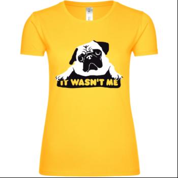 Mops Hund Frauen T-Shirt