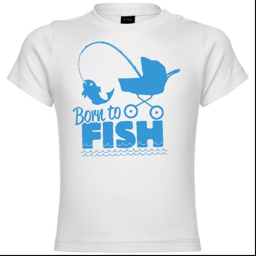 Born To Fish Baby T-Shirt