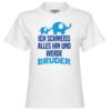 Ich schmeiss alles hin und werde Bruder Kinder T-Shirt