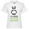Ich werde grosser Bruder Kinder T-Shirt