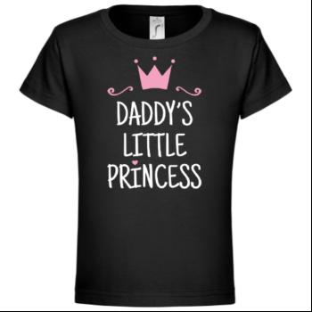 Daddy's Little Princess Kinder T-Shirt