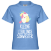 Kleine Lieblingsschwester Kinder T-Shirt