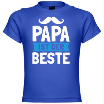 Papa ist der Beste Kinder T-Shirt
