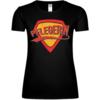 Superheldin Pflegerin Frauen T-Shirt