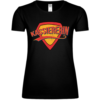 Superheldin Kassiererin Frauen T-Shirt