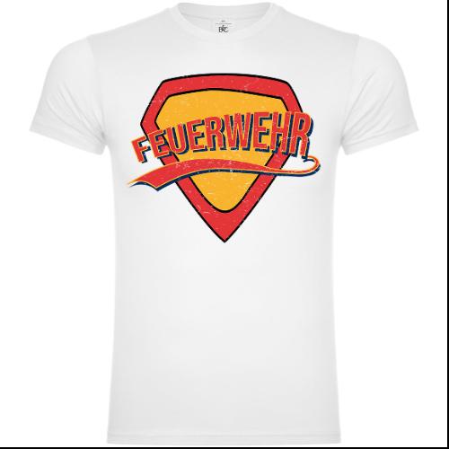 Superhelden Feuerwehr T-Shirt