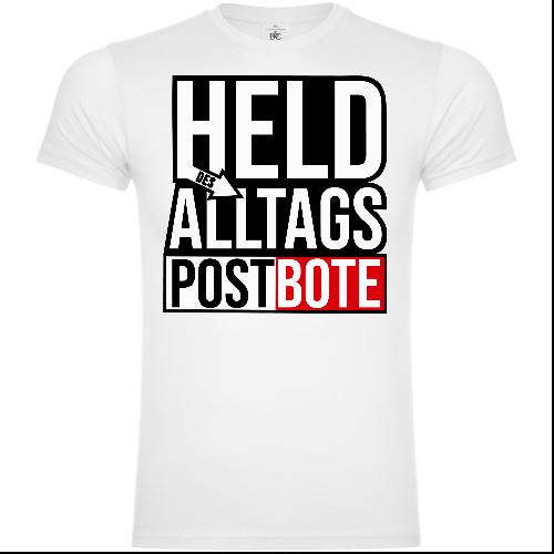 Held Des Alltags Postbote T-Shirt