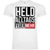 Held Des Alltags Feuerwehr T-Shirt