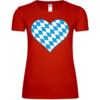 Bavaria Heart Frauen T-Shirt