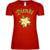 Edelweiss Dirndl Frauen T-Shirt