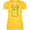 Böser Hase Frauen T-Shirt