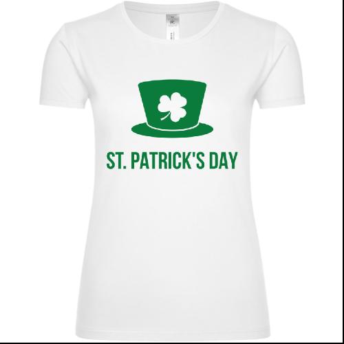 St. Patricks Day Logo Frauen T-Shirt