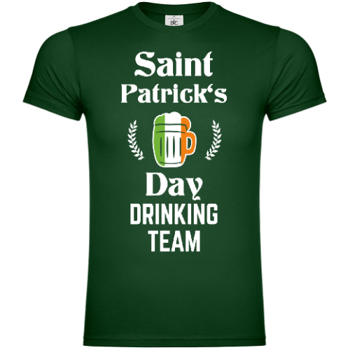 Saint Patrick's Day Drinking Team T-Shirt
