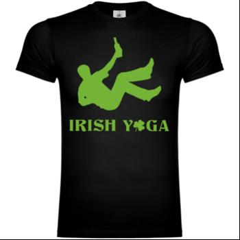 Irish Yoga Drunk T-Shirt